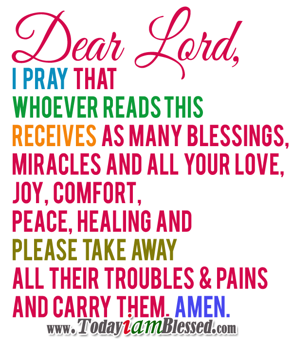 Prayer For Today – January 19 2014 on We Heart It