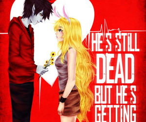 adventure time, warm bodies, and marshall lee image
