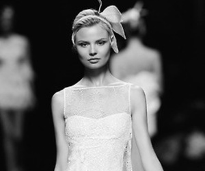 model, dress, and Couture image
