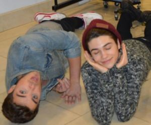 bromance, union j, and george shelley image