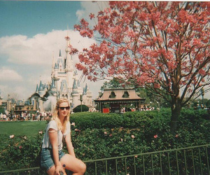 girl, disney, and tree image