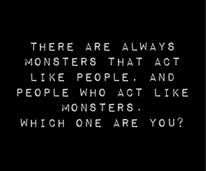 monster, quote, and words image