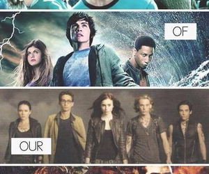 percy jackson, harry potter, and hero image