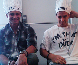 Vinny, pauly d, and jersey shore image
