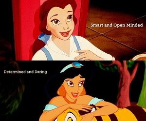 belle, determined, and disney image