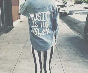 music, grunge, and outfit image