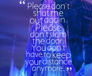 frozen, disney, and quote image