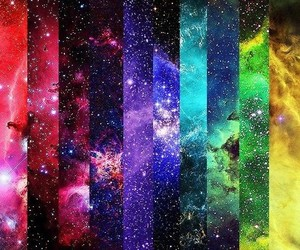 galaxy, colors, and colorful image