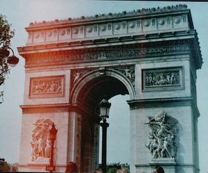 paris, photography, and arc de triomphe image