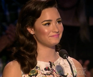 demi lovato, demi smile, and demi x factor usa image