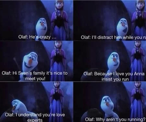 anna, frozen, and moment image