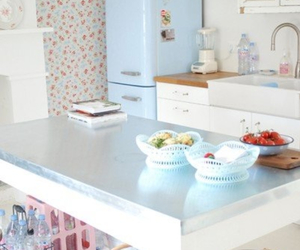 kitchen, pastel, and retro image