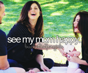 happy and mom image