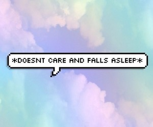 quote, sleep, and blue image