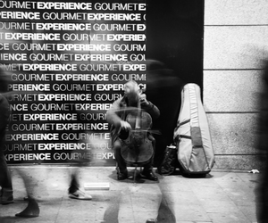 blackandwhite, experience, and people image