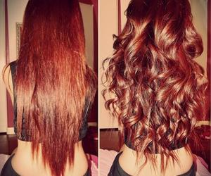 cheveux, hair, and straight image