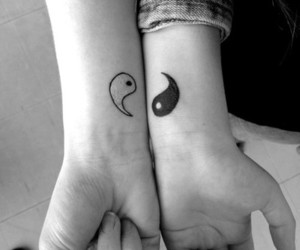 best friend, bff, and Tattoos image