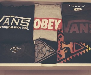 obey, vans, and swag image