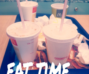 mc donalds and eat time image