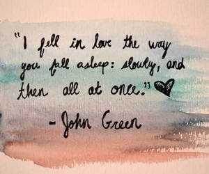 love, quotes, and john green image