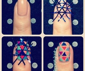 colors, manicure, and nails image