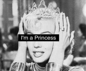 princess, Marilyn Monroe, and crown image
