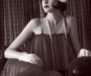 20s, fashion, and retro image