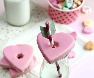 candy, valentine, and candy hearts image