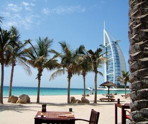 Dubai, beach, and summer image