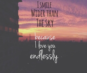 quotes, sky, and smile image