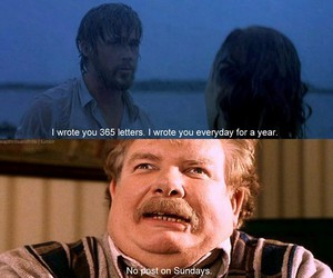 harry potter, funny, and the notebook image