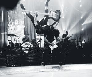 paramore, taylor york, and black and white image