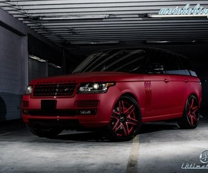 car, matte, and range rover image