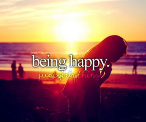 happy, sun, and beach image