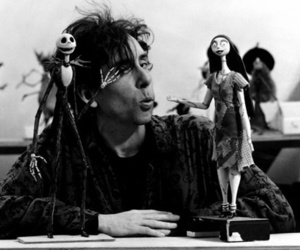tim burton, sally, and jack image
