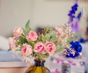 decor, flores, and flowes image