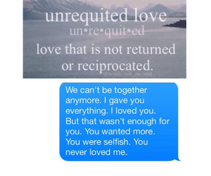 heartbroken, Liars, and cheaters image