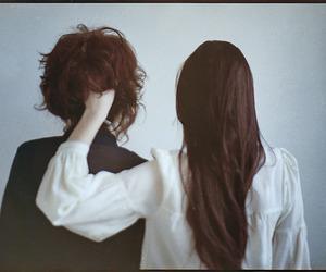 analog, back, and girls image