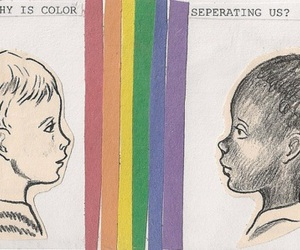 color, racism, and colour image