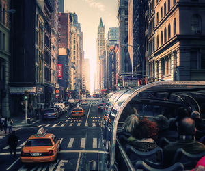new york, city, and street image