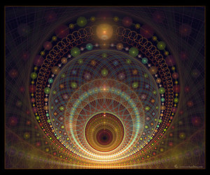 beauty, circles, and concentric image