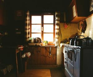 kitchen, home, and vintage image