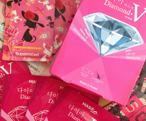 diamond, korea, and shopping image