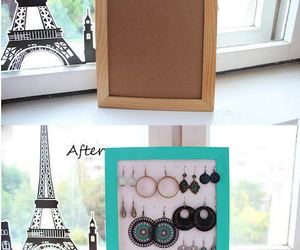 diy, earrings, and fashion image