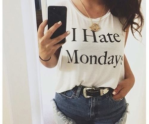 monday, fashion, and hate image