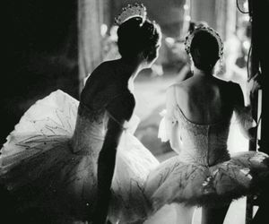 art, ballerina, and passion image