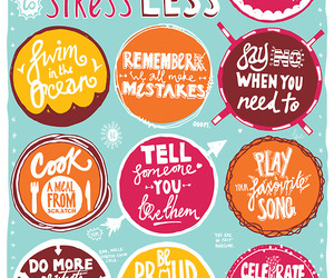 stress, tips, and quote image