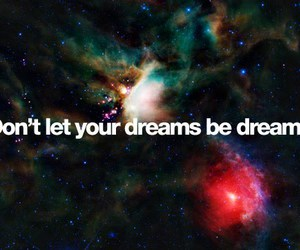 dreams and text image