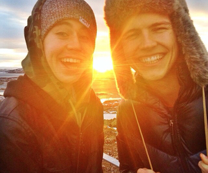 vine, sunset, and jerome jarre image