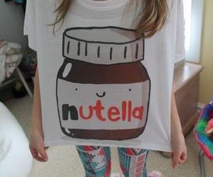 nutella, shirt, and t-shirt image